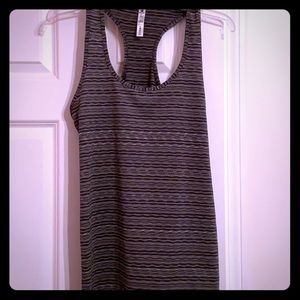 90 degrees exercise top in Gray, XL. Like New.